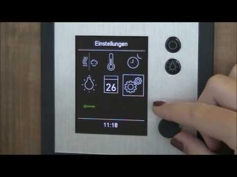 Система управления для бани EOS EMOTEC H