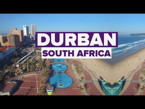 South Africa's Durban City. Largest port City on Africa's Indian Ocean
