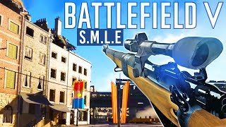 New Sniper + Customization Battlefield 5 Rotterdam Map Beta - SMLE BF5