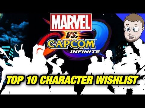 Top 10 Characters for Marvel Vs Capcom Infinite - SmashMasterShow