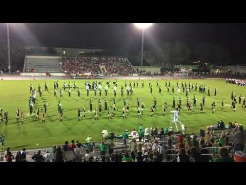 Fort Myers High School Greenwave Marching Band - 09/02/16