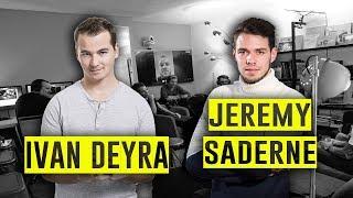 Ivan Deyra, Jérémy Saderne et James Romero