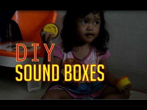 Montessori - DIY sound boxes