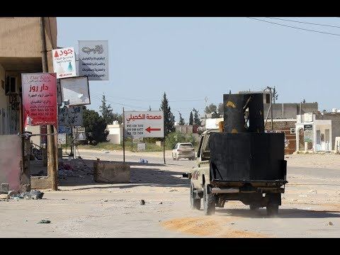 تقدم للجيش الليبي قرب طرابلس  - نشر قبل 1 ساعة