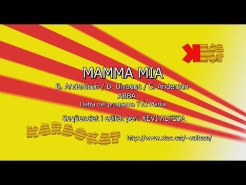 Mamma mia - ABBA - Karaoke en català - KARAOKAT