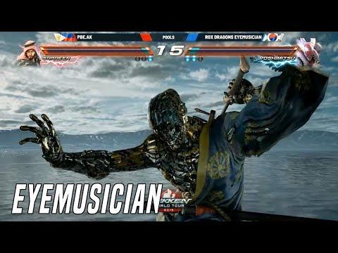 Crazy Yoshimitsu Player Eyemusician Vs Ak Rev Major 2019 Tekken 7 Season 3 Youtube
