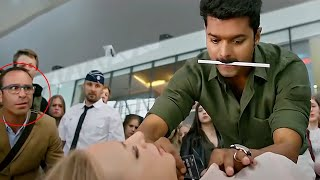 Vijay Thalapathy Recent Blockbuster Movie Airport Scene | Vijay Thalapathy | Cinema House