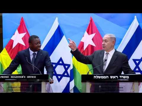 PM Netanyahu Meets President of Togo Faure Gnassingbe