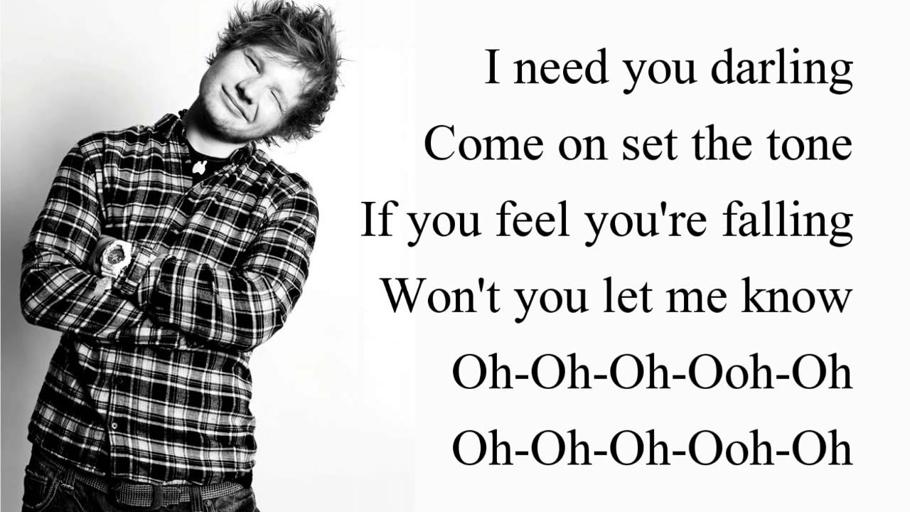 Ed Sheeran   SING   HD LYRICS (New Song 2014)   YouTube