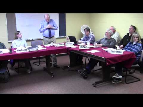 MCH Board 01/24/2014 Mineral Community Hospital Part 1 of 4 HD