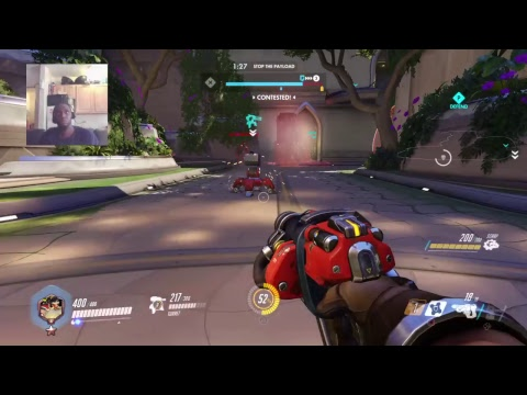 OVERWATCH ONLINE MATCHUPS! HOLD IT DOWN! REB3LTV!