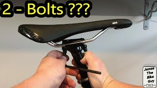 How to Install and Adjust a Saddle on a 2 Bolt Seatpost