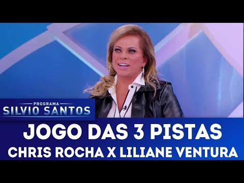 Jogo das 3 Pistas com Christina Rocha e Liliane Ventura | Programa Silvio Santos (09/09/18)
