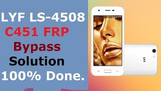 LYF LS-4508 FRP Solution.All Bypass Method Failed Google Account Verfication Done With Miracle Box