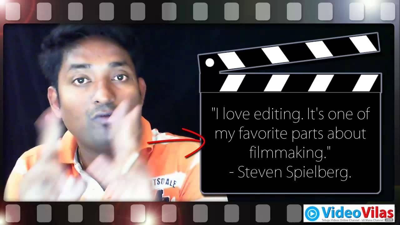 #001 Learn Filmmaking | Explore Filmmaking Quotes - Steven ...