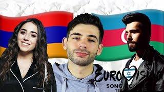 РЕАКЦИЯ АЗЕРБАЙДЖАНЦА | Chingiz - Truth vs Srbuk - Walking Out | Azerbaijan vs Armenia | Eurovision