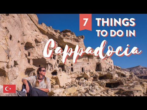 7 Things to do in Cappadocia, Turkey ☃︎ We see snow!!! ☃︎