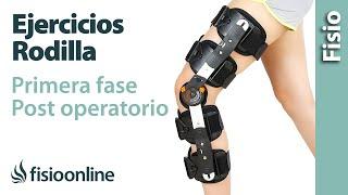 De después del rodilla dolor la de rodilla muscular reemplazo detrás