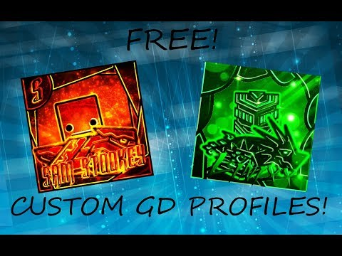 [TUTORIAL] How To Make A Geometry Dash Profile Picture! (FREE!)