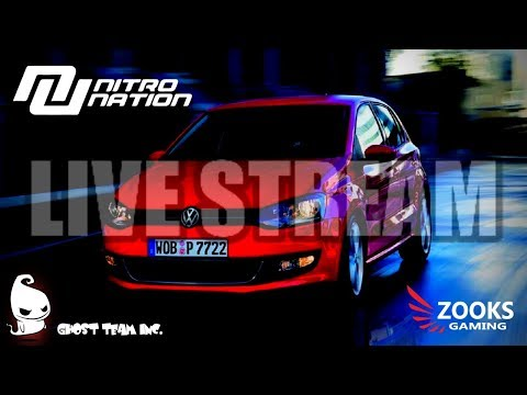 NITRO NATION - LIVE - GTI - NEW CAR CHARGER PURSUIT TUNING & ONLINE RACING