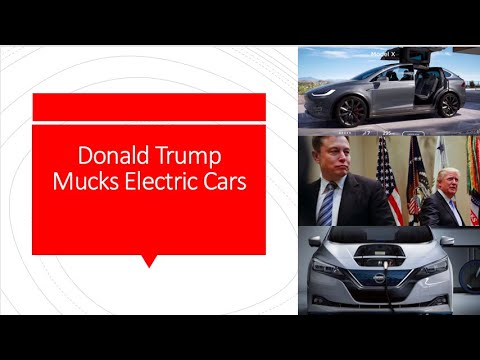 Donald Trump Mocks Electric Cars
