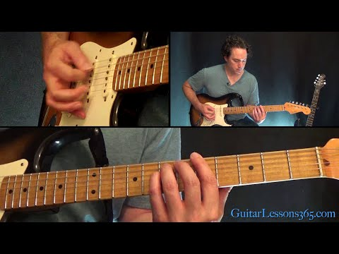Message In A Bottle Guitar Lesson - The Police