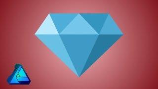 Diamond Logo - Affinity Designer Tutorial
