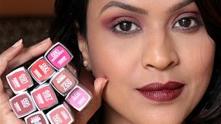 9 Maybelline Creamy Matte Lipsticks Lip Swatches amp Review