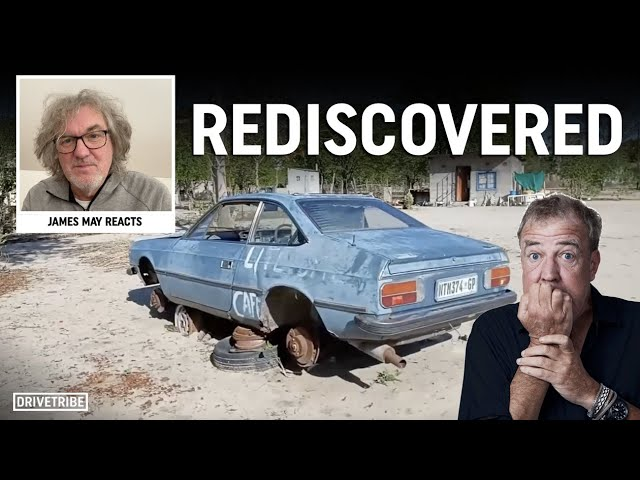 Jeremy Clarkson's Lancia has been found in Botswana! Ft. James May