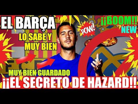 ¡¡HAZARD del BARÇA!! ¡ÚLTIMA HORA! FC BARCELONA NOTICIAS thumbnail
