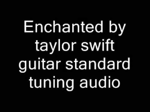 Enchanted Taylor Swift Guitar Standard Tuning Youtube