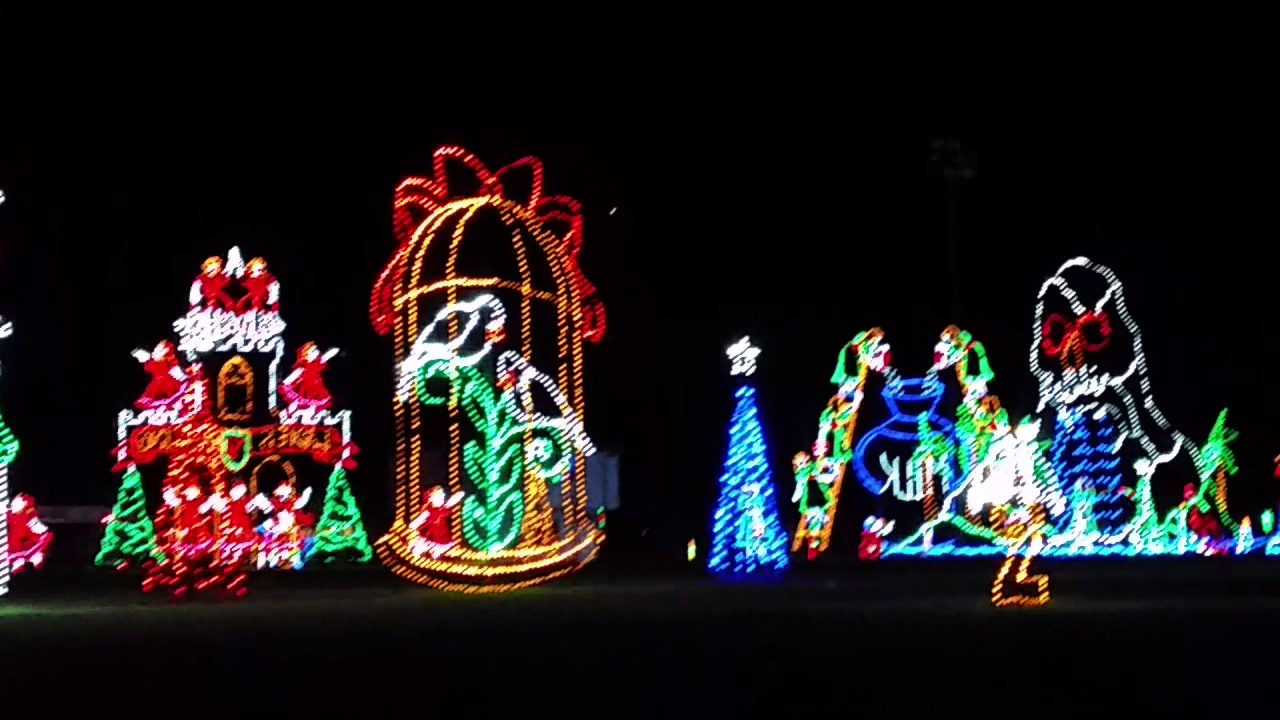 Winter fest lights ocean city md 2016 - YouTube
