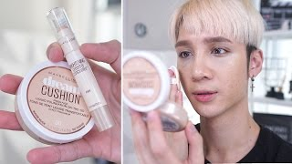Maybelline Dream Cushion + Dream Brightening Concealer Review - Edward Avila