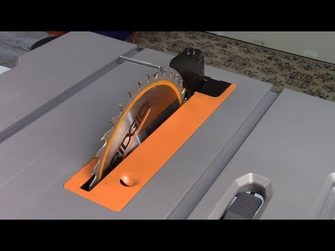 How To Align Your RIDGID Portable Table Saw