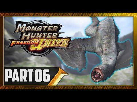 Let's Play Monster Hunter Freedom Unite Part 6 - Khezu Urgent Quest