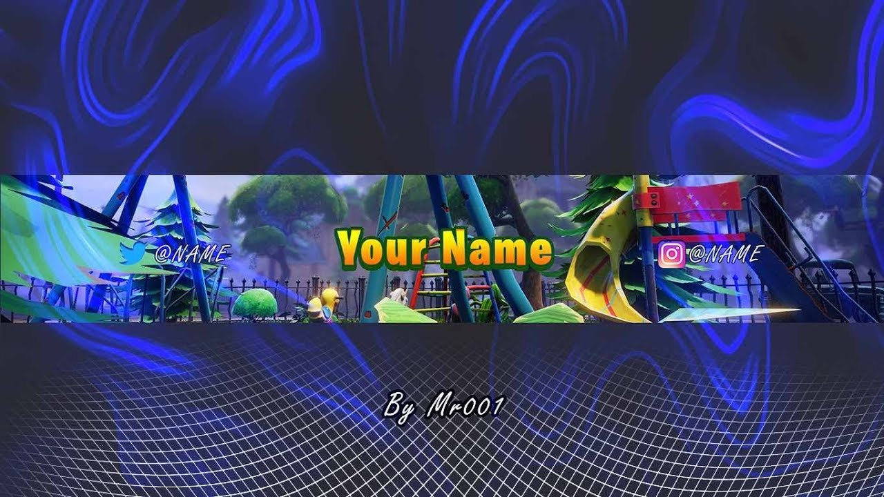 Bannière Youtube Fortnite L Free Template Fortnite Youtube