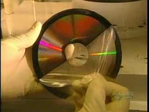 How It's Made  how DVD & CD Are Made