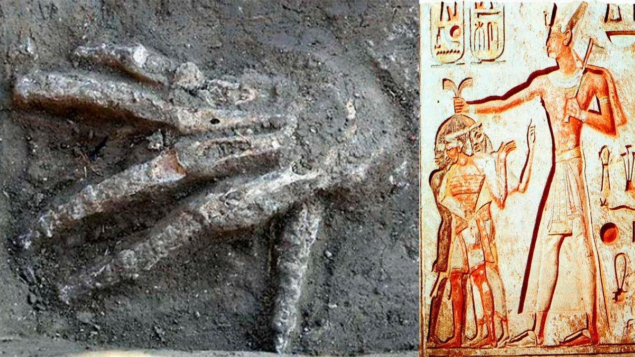 desentierran 16 manos gigantes en egipto youtube