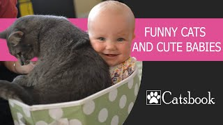 Repeat youtube video Funny Cats and Babies Compilation 2014 [NEW]