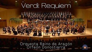 Verdi: Requiem (Orquesta Reino de Aragón, Orfeón Donostiarra)
