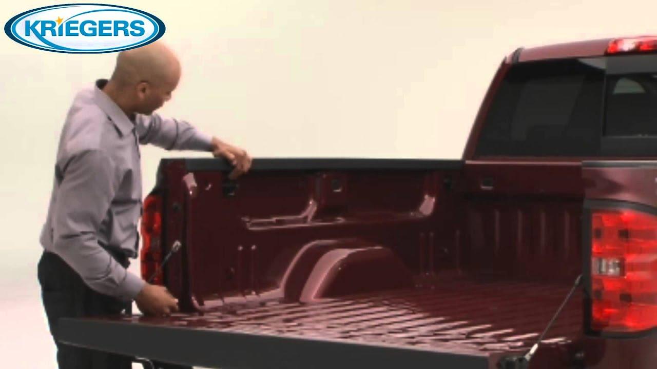 Chevy Silverado Installing cargo box upper tie downs - YouTube