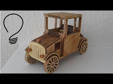 Wooden Toy Car- Ford Model T