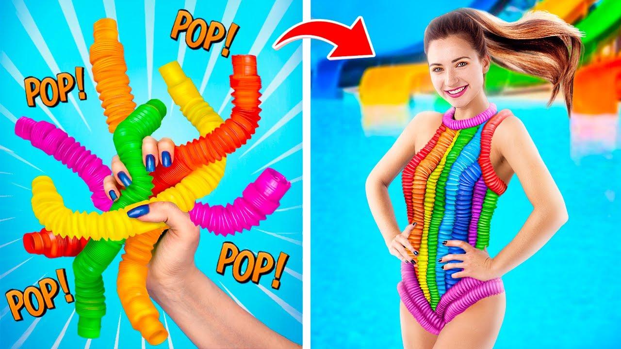 Виноват Pop It! Как пронести антистрессы в аквапарк!