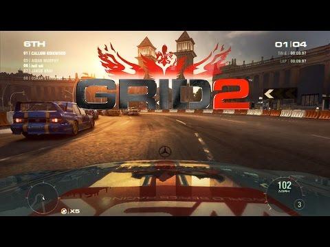 """เกมส์รถแข่งสุดมัน GRID 2 EURO RAND RACE (MacBook Air 13"""" 2014)"""