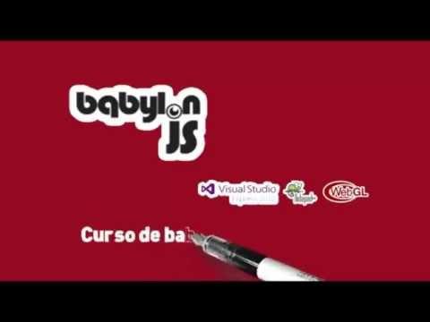 Curso babylon.js y webgl Preview vídeo 03 -Materiales, Rotación y Escala.