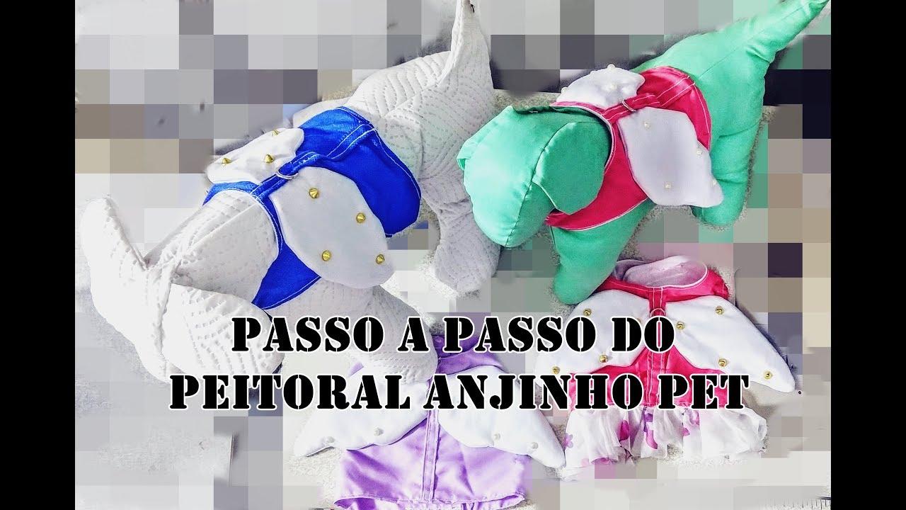 PEITORAL ANJINHO PET