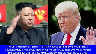 North korea-us tensions: how worried should you be? - bbc news[BIKINI]