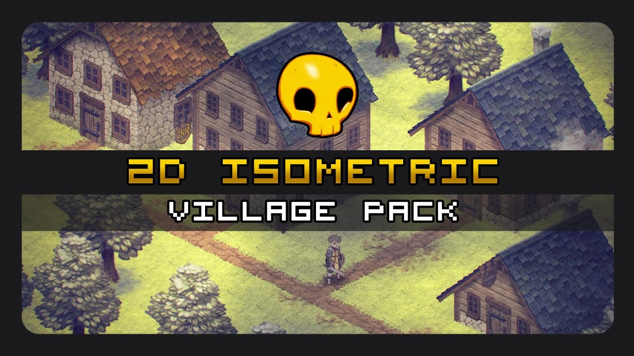 2D Isometric Village Pack HD