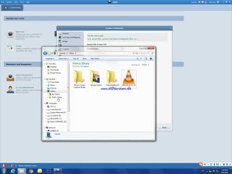 Download recorded video from CMS Software