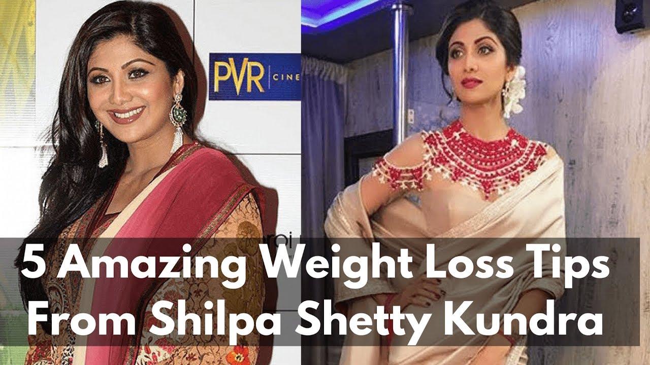 5 Amazing Weight Loss Tips From Shilpa Shetty Kundra